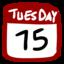 64x64 of Calendar 512x512