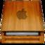 64x64 of HD wood APPLE