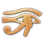 64x64 of Eye of Horus Embossed