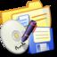 64x64 of Folder Yellow Backups