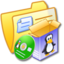 64x64 of Folder Yellow Software Linux