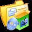 64x64 of Folder Yellow Software Mac