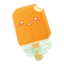 64x64 of Orange Creamsicle