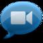 64x64 of iChat Blue