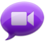 64x64 of iChat Purple