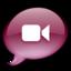 64x64 of iChat donkerroze