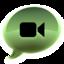 64x64 of iChat groen alt