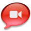 64x64 of iChat rood