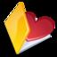 64x64 of Folder favorits yellow