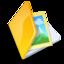 64x64 of Folder image yellow