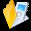 64x64 of Folder ipod yellow
