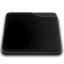64x64 of niZe   Folder Blank Black