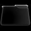 64x64 of niZe   Folder Blank Open Black