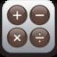 64x64 of iPhone Calculator