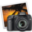 64x64 of eos 40d iphoto icon by darkdest1ny