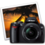 64x64 of nikon d40 iphoto icon by darkdest1ny
