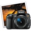 64x64 of sony a350 iphoto icon by darkdest1ny