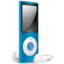 64x64 of iPod Nano blue off