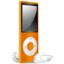 64x64 of iPod Nano orange off