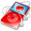 64x64 of ipod video red favorite