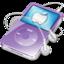 64x64 of ipod video violet apple