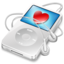 64x64 of ipod video white apple