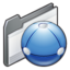 64x64 of folder   network