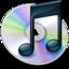 64x64 of iTunes zwart