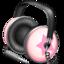 64x64 of Pinkstar Power headphones