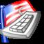 64x64 of keyboard layout