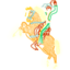 64x64 of Horse and Rider
