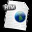 64x64 of Filetype HTML