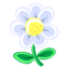 64x64 of White Flower