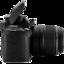 64x64 of Nikon D40 side