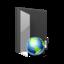 64x64 of Folder Internet