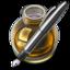 64x64 of Fire w silver pen