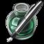64x64 of Green w silver pen