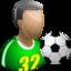 64x64 of Footballer
