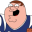64x64 of Peter Griffin Football zoomed 2
