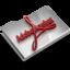 64x64 of Adobe Acrobat Reader CS3 Overlay