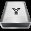 64x64 of White USB