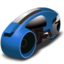 64x64 of lightcycle   blue