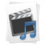 64x64 of Movie & Music File