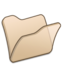 64x64 of Folder beige