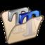 64x64 of Folder beige font2