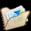 64x64 of Folder beige mypictures