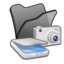 64x64 of Folder black scanners cameras