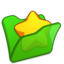 64x64 of Folder green favourite