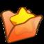 64x64 of Folder orange favourite