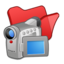 64x64 of Folder red videos